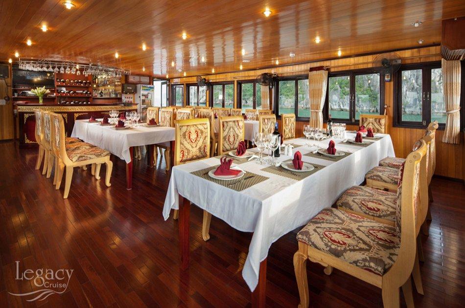 Halong Legacy Legend 2 Day Cruise