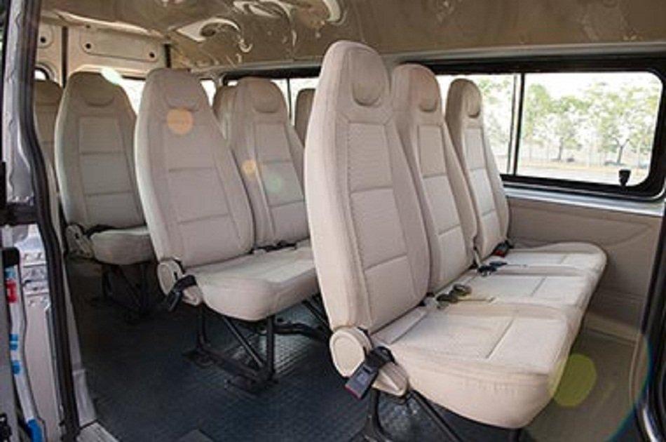 Hanoi airport Departure Transfer by 16 Seats Minibus