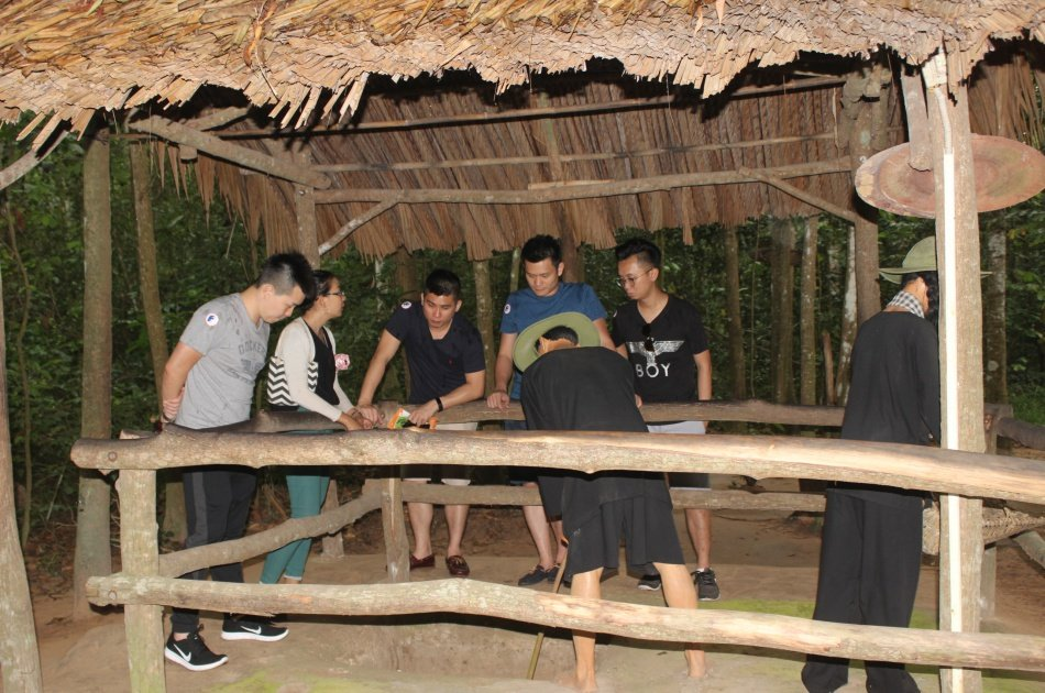 Private Cu Chi Tunnels Tour from Ho Chi Minh