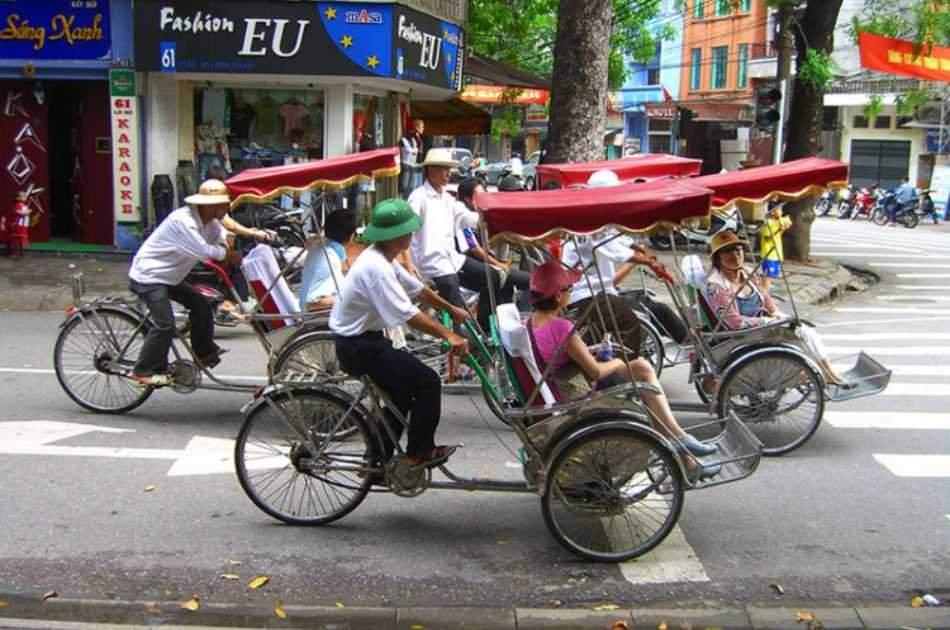 Rickshaw - Biking - Cooking Class