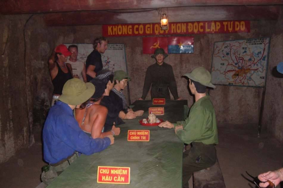 Saigon City and Cu Chi Tunnels Private tour