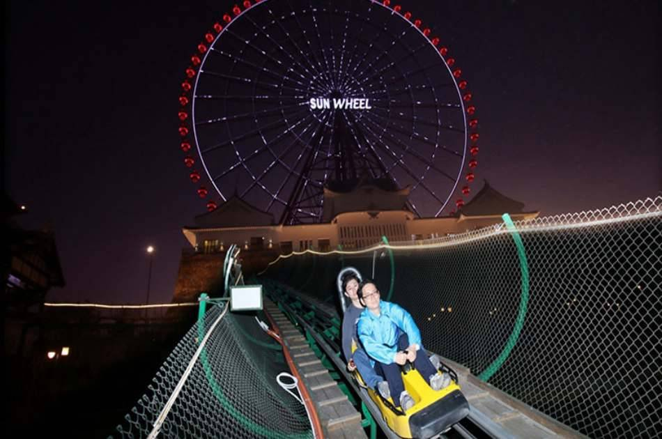 Sunworld Theme Park With Roundtrip Transfer for Hotels in Halong