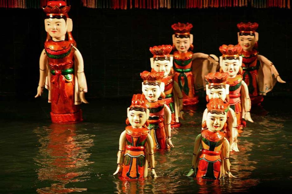 Water Puppet Show & Saigon River Dinner Cruise in Ho Chi Minh City