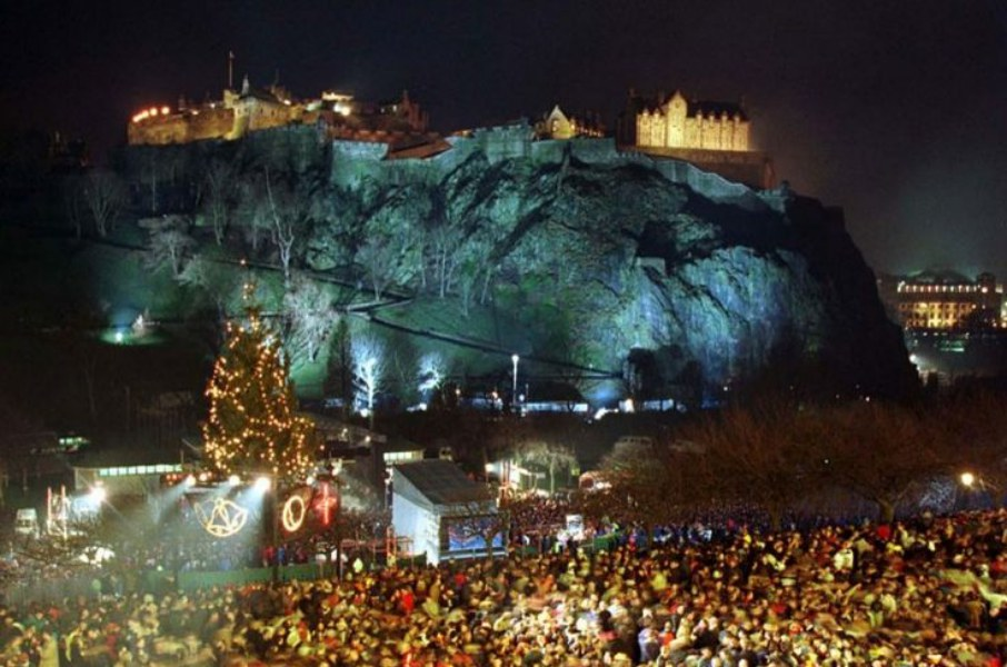 "When we Celebrated ""Hogmanay"" in Exciting Edinburgh"