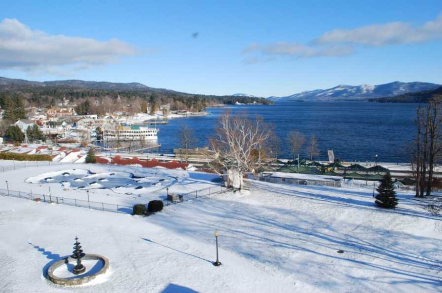 "Christmas at Lake George My ""Back to New York "" Experience"