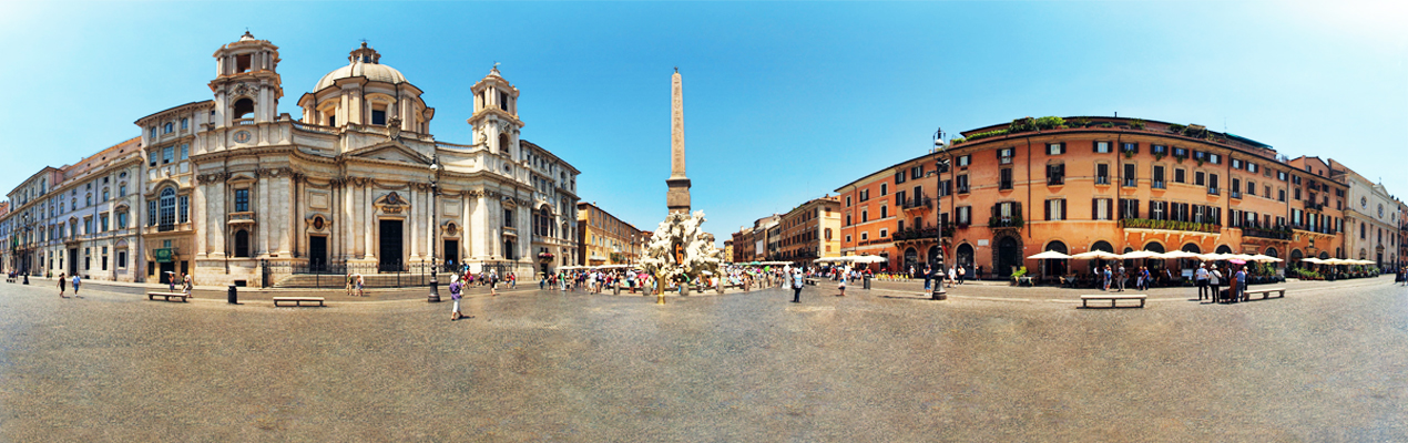 Enjoy Baroque Atmosphere In Piazza Navona