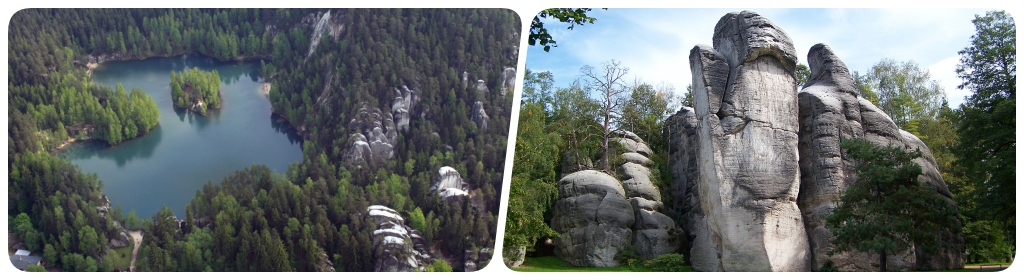 Take A Hike On The Adrspach Teplice Rocks Tours Of Czech Republic
