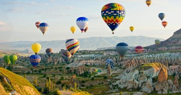 Experience Cappadocia's Magical Rock Formations by Air Balloon