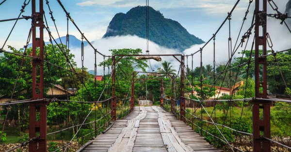 Adrenalin and Action Packed Party Town Guided Tour of Vang Vieng