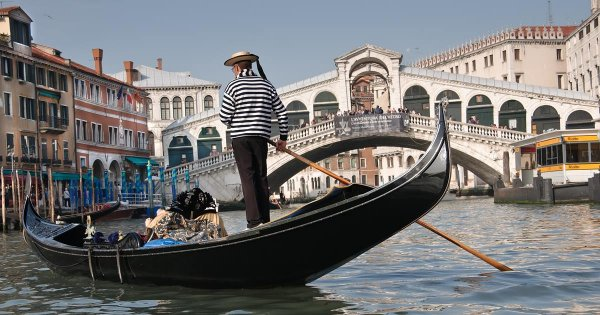 On a Private Tour of Venice, Sail the Velvety Venetian Canals by Gondola