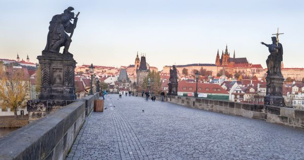 Visit the Beautiful Old Town Square on a Sightseeing Tour of Prague!
