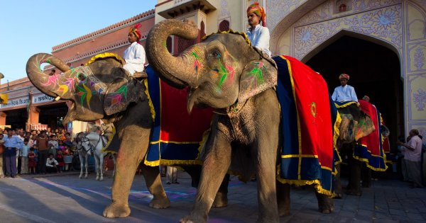 Majestic Jaipur India Sightseeing Tours the Most Flamboyant City!