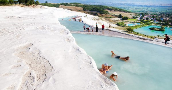 Private Tours Pamukkale; Visit the Thermal Waters and Hierapolis Ruins