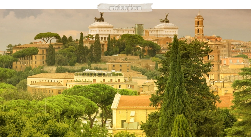 private tour to Aventine Hill in Rome