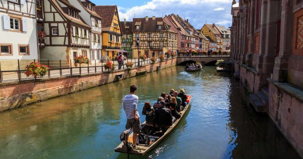 Step into a page of a fairytale with a private tour of Colmar