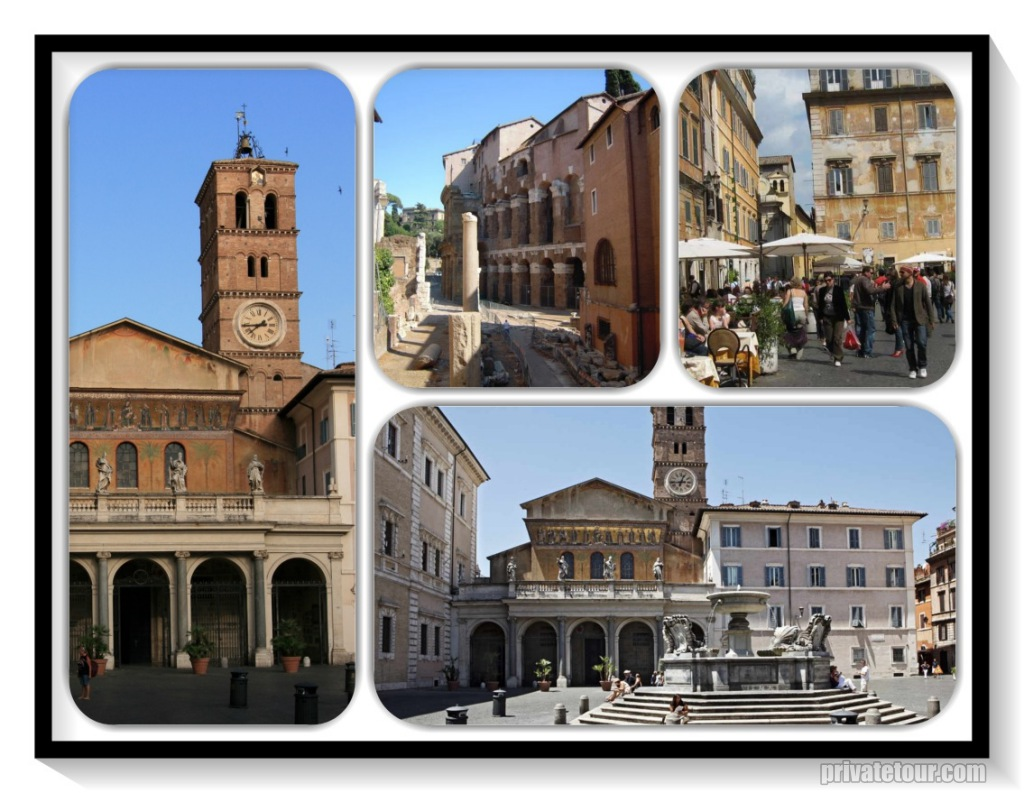 private tour of Trastevere