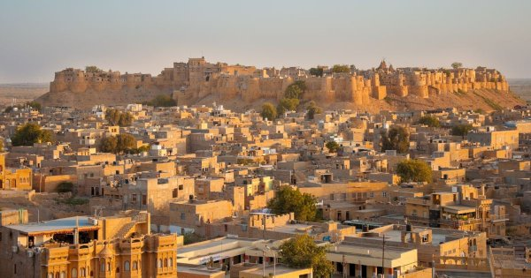 Come Forth to the Golden Forts of Jaisalmer on Private Tour