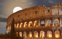 Night Group Tour of Colosseum Under the Moon